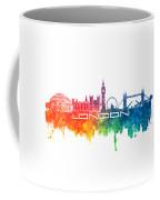 London Skyline City Color Coffee Mug