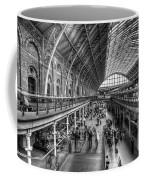 London St Pancras Station Bw Coffee Mug