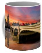 London Sunset Coffee Mug