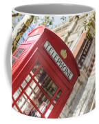 London Telephone 3 Coffee Mug