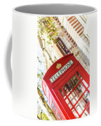 London Telephone 3 Coffee Mug