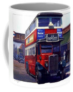 London Transport Renown Coffee Mug by Mike  Jeffries
