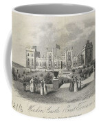 London Windsor Castle East Terrace, The Queen's Private Apartments Coffee Mug