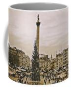London's Trafalgar Square Coffee Mug
