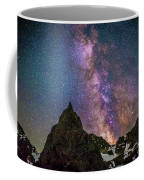 Lone Eagle Peak Dancing In The Milky Way Coffee Mug