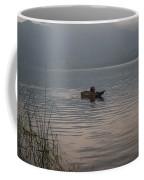 Lone Fisherman Lake Atitlan Coffee Mug