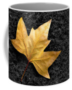 Lone Leaf Coffee Mug by Carlos Caetano