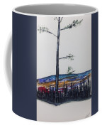 Lone Pine Over The Valley Coffee Mug