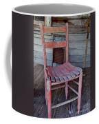 Lone Red Chair Coffee Mug