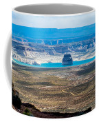 Lone Rock In Lake Powell Utah Coffee Mug