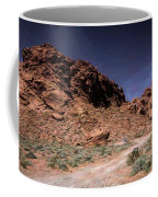 Lone Rock Road Overton Nevada  Coffee Mug
