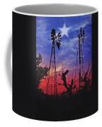 Lone Star Sunset Coffee Mug