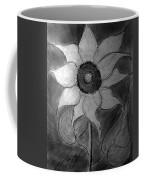 Lone Sunflower Iv Coffee Mug