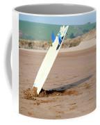 Lone Surfboard Coffee Mug