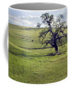 Lone Tree And Cows Coffee Mug