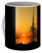 Lone Tree At Dawn Coffee Mug