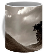 Lone Tree On A New Zealand Hillside Coffee Mug