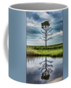Lone Tree Reflected Coffee Mug