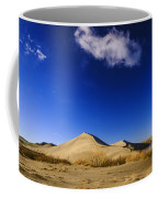Lonely Cloud Over Sand Dunes At Bruneau Dunes State Park Idaho Usa Coffee Mug