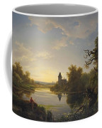 Lonely Fisherman Coffee Mug
