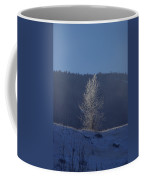 Lonely Frosty Tree Coffee Mug