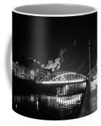 Lonely Night Bw Coffee Mug