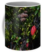 Lonely Red Leaf Coffee Mug