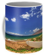 Lonely Surfboard Coffee Mug