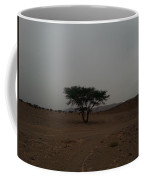 Lonely Tree In The Middle Of The Desert Coffee Mug