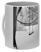 Lonely Winter Swing Ipswich Ma Coffee Mug