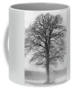 Lonely Winter Tree Coffee Mug