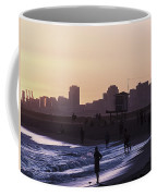 Long Beach Sunset Coffee Mug
