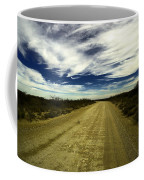 Long Dusty Road In Jal New Mexico  Coffee Mug
