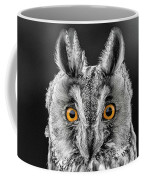 Long Eared Owl 2 Coffee Mug