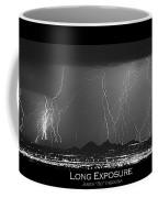 Long Exposure - Bw Poster Coffee Mug