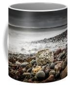 Long Exposure At Lawrencetown Beach, Nova Scotia Coffee Mug