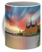 Long Exposure Stockholm Sunset Coffee Mug