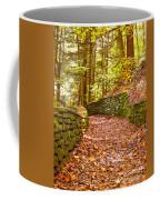 Long Fall Walk  Coffee Mug