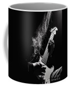 Long Hair Man Playing Guitar Coffee Mug