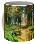 Long Indian Summer In The Woods Coffee Mug