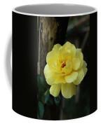 Single Yellow Rose  Coffee Mug