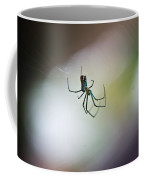 Long Legged Green Spider 2 Coffee Mug