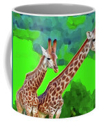 Long Necked Giraffes 3 Coffee Mug