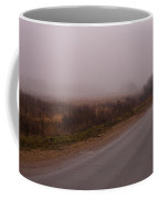 Long Way Home By Car In The Fog Coffee Mug