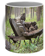 Long Winter Coming - Vintage Wheelbarrow - Casper Wyoming Coffee Mug