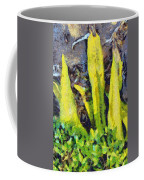 Long Yellow Leaves Coffee Mug