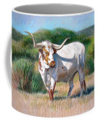 Longhorn Bull Coffee Mug by Sue Halstenberg
