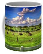 Longhorns At The Ranch Coffee Mug