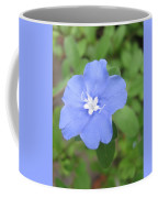 Lonly Blue Flower Coffee Mug