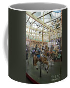 Looff Carousel Santa Cruz Boardwalk Coffee Mug